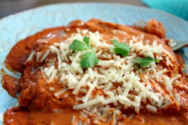15-Minute Shrimp Enchiladas With Chipotle Sauce, photo by Fernanda Alvarez