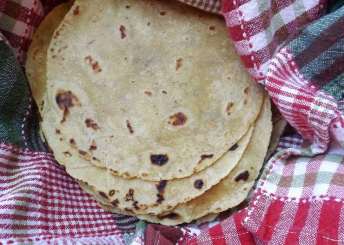 Wheat Flour And Corn Tortilla Recipe Half And Half Style