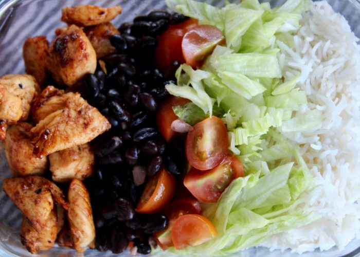 Spiced Lime Chicken Goodness Bowl