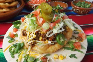Navajo Tacos (Easy Fry Bread Recipe), photo by Sonia Mendez Garcia
