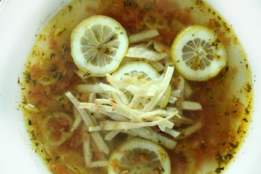 Sopa de Lima, photo by Fernanda Alvarez