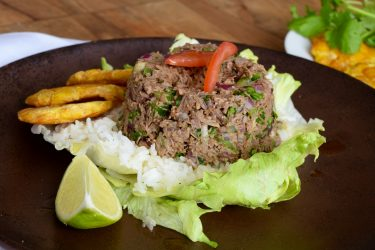 Salpicón de Res (Honduran Chopped Beef), photo by Suellen Pineda, RDN, CDN