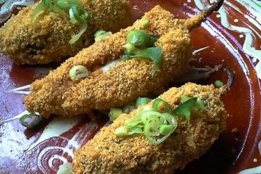 Chili and Cheese Poppers – Poppers Two Ways, photo by Sonia Mendez Garcia