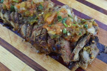 Carne Asada Brava With Roasted Salsa, photo by Sonia Mendez Garcia