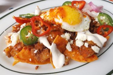 Breakfast Chilaquiles, photo by Sonia Mendez Garcia