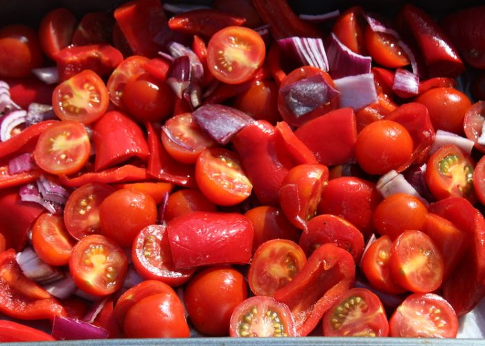 Roasted Cherry Tomato And Red Pepper Sauce