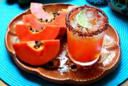 Papaya Margarita Recipe | Papaya Cocktail with Lime & Chile