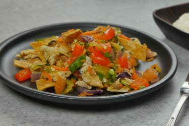 Vegetable Migas, photo by Hispanic Kitchen