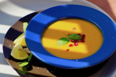 Mouthwatering Mango Gazpacho, photo by Jennifer Rice