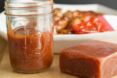 Guava BBQ Sauce, photo by Sweet y Salado