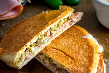 Mexican Cuban Sandwich, photo by Mexican Please