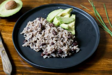 Cuban Black Beans & Rice, photo by Hispanic Kitchen