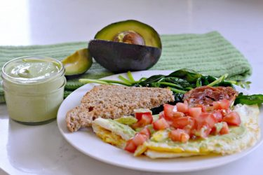 Heart-Healthy Creamy Avocado Salsa Recipe, photo by Hispanic Kitchen