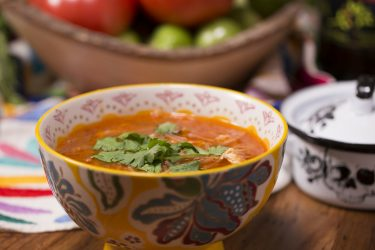 Chipotle Chicken Noodle Soup (Sopa de Fideo), photo by Fernanda Alvarez