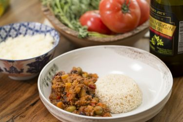 Cuban Beef Picadillo, photo by Fernanda Alvarez