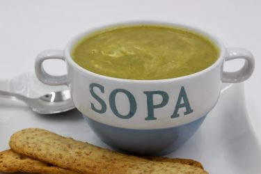 Avocado And Pea Soup, photo by Jennifer Rice