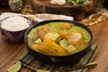 Easy Crock Pot Colombian Chicken Sancocho, photo by Fernanda Alvarez