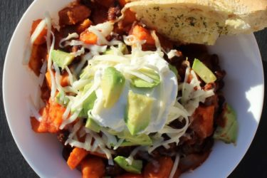 Sweet Potato And Black Bean Chili, photo by Jennifer Rice