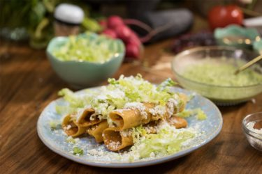 Easy Potato and Chorizo Flautas, photo by Fernanda Alvarez