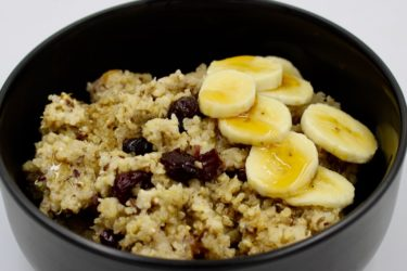 Slow Cooker Morning Maple Quinoa, photo by Jennifer Rice