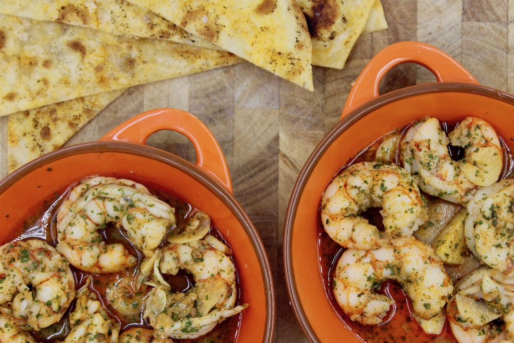 Sizzling Gambas Al Ajillo Garlic Shrimp A Classic Spanish Tapas Recipe