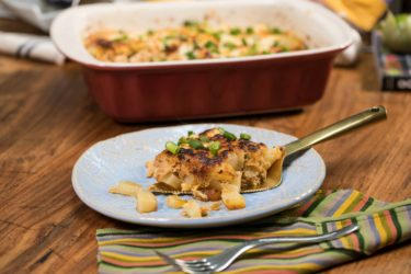 Chicken, Cheese and Potato Casserole, photo by Fernanda Alvarez