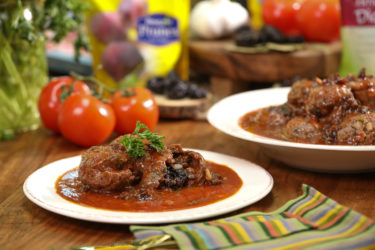 Albóndigas in Prune Sauce, photo by Hispanic Kitchen