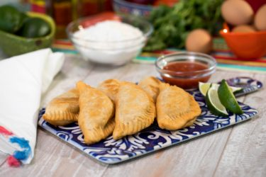 Shrimp Empanadas, photo by Hispanic Kitchen