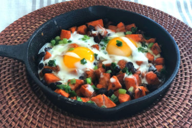 Mexican Sweet Potato Skillet Hash, photo by Hispanic Kitchen