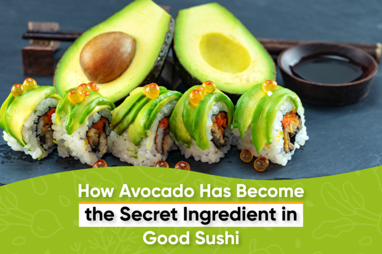 How Avocado Has Become the Secret Ingredient in Good Sushi, photo by hkeditor