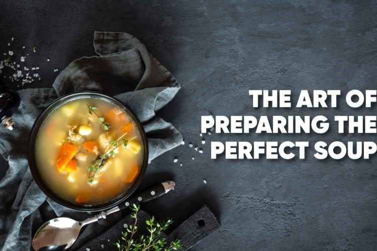 The Art of Preparing the Perfect Soup, photo by hkeditor